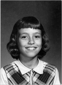 Elementary School Picture of Michele Wulf