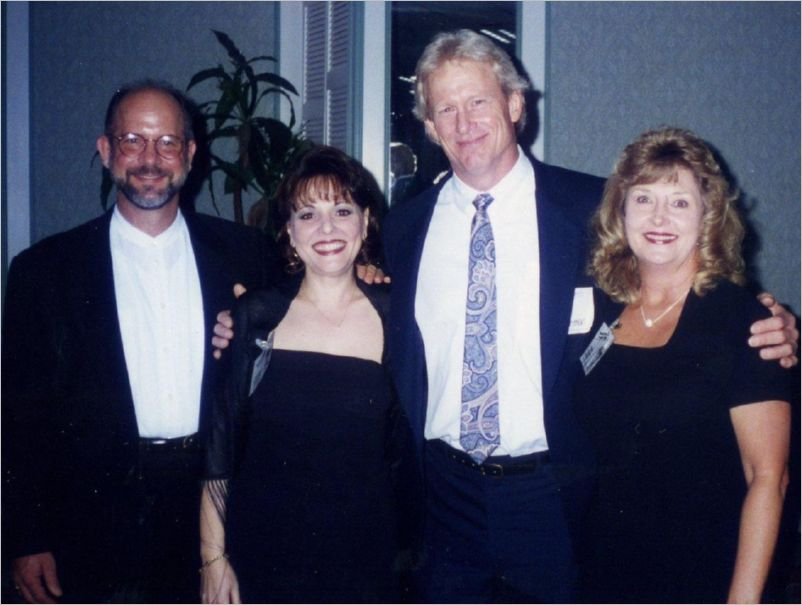 Art Schoeck, Ellen Metter, Bill Cashman and Gale Olson at the 30