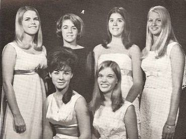 1967 NFL Calendar Girl Semi-Finalists